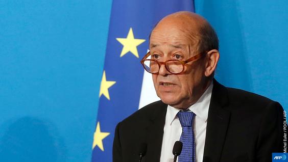 シリア情勢に関するル・ドリアン・ヨーロッパ・外務大臣の声明 [fr]