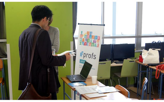 Le stand IFprofs Japon