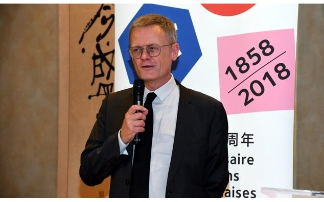 M. Laurent Pic, ambassadeur de France au Japon