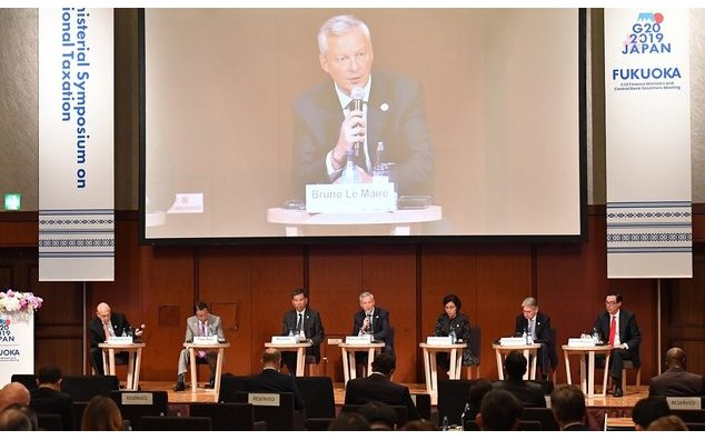 G20 Fukuoka - Symposium sur la fiscalité internationale