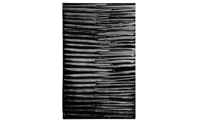 Pierre Soulages © ADAGP, Paris 2017 / Courtesy Perrotin