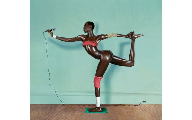 Grace revised and updated, painted photo, New York, 1978 © Jean-Paul Goude